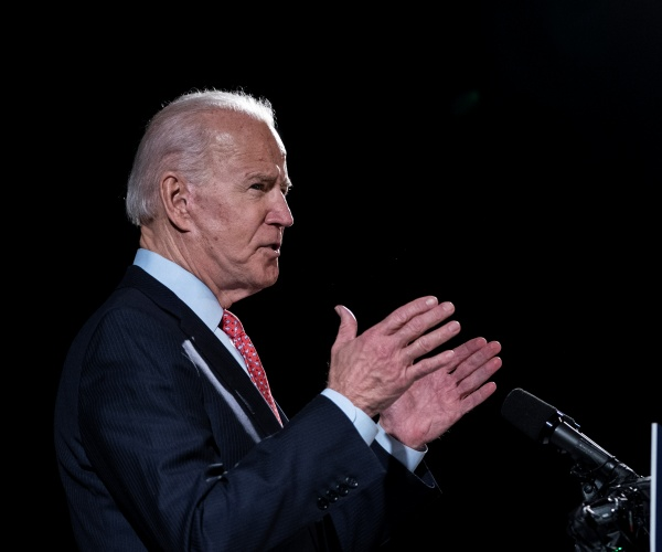 Biden: I Won't 'Use the Justice Department' the Way Trump Does